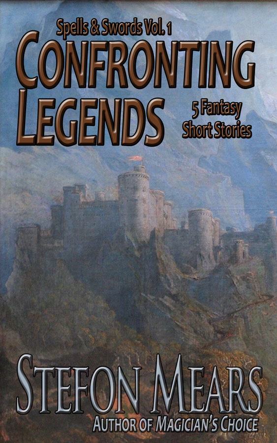 Confronting Legends - Cover - Stefon Mears