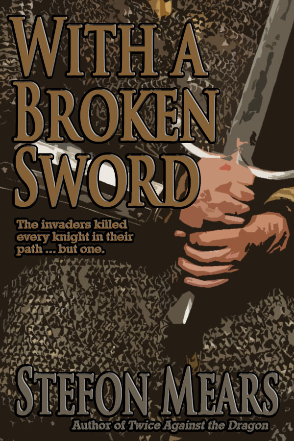 With a Broken Sword - Cover - Stefon Mears