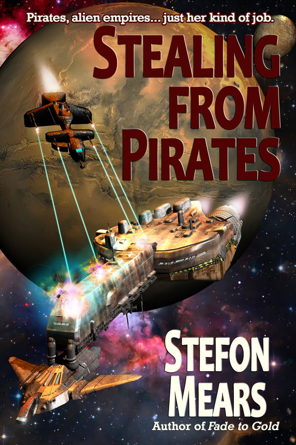 Stealing from Pirates - Stefon Mears - Web Cover