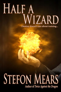 Half a Wizard by Stefon Mears web cover