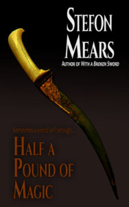 Half a Pound of Magic by Stefon Mears web cover
